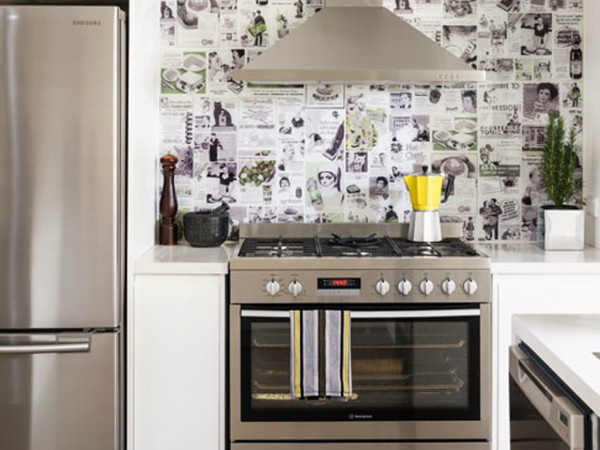 Collage  Printed Splashback