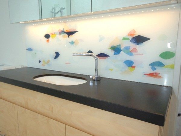 Clifton Hill vanity splashback