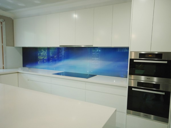Blackburn Blue Splash back