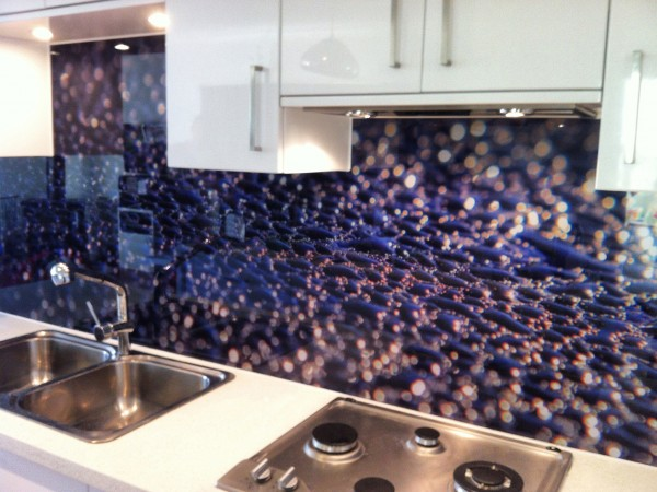 Clients own Image Splashback