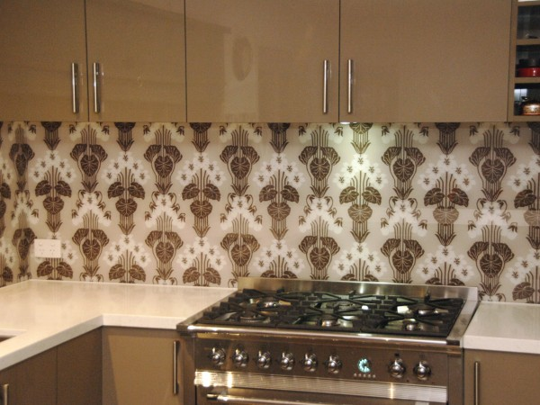 Custom Wallpaper Splashback