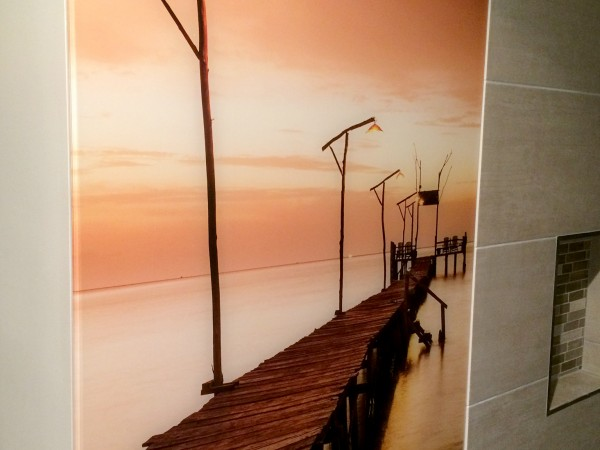 Pier Bathroom Splashback