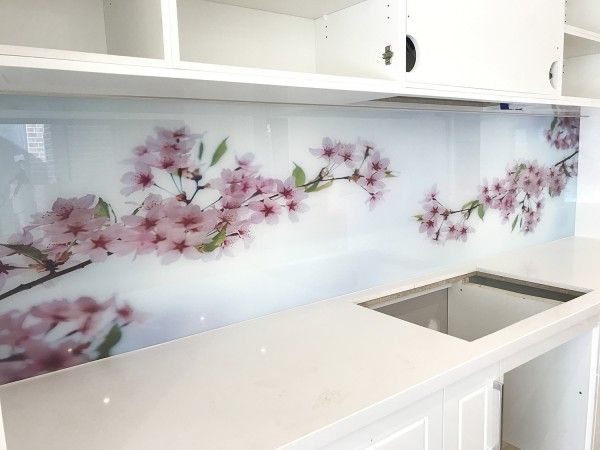Cherry Blossom splash back